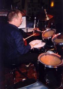 Luc de Jong solo drummer